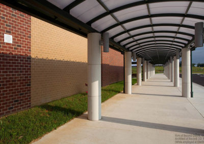Greenwood Elementary School: Covered Walkway
